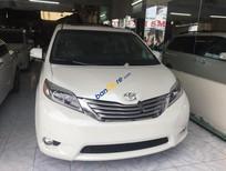 Cần bán xe Toyota Sienna Limited đời 2015, màu trắng, xe nhập