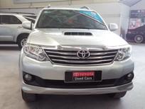 Bán xe Toyota Fortuner G đời 2013, màu bạc, số sàn