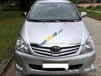 Bán Toyota Innova G năm 2009, màu bạc xe gia đình, giá chỉ 450 triệu