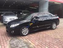 Cần bán xe Toyota Corolla altis 1.8AT 2009, màu đen, giá chỉ 468 triệu