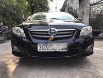 Cần bán xe Toyota Corolla altis 1.8G AT năm 2009, màu đen còn mới, 465 triệu
