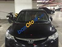 Cần bán Honda Civic 1.8AT sản xuất 2008, màu đen, giá tốt