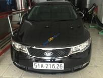 Cần bán gấp Kia Forte SX 1.6 AT sản xuất 2011, màu đen