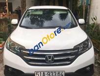 Bán lại xe Honda CR V đời 2014, màu trắng xe gia đình