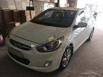 Bán xe Hyundai Accent 1.4 AT đời 2012, màu trắng, xe nhập xe gia đình