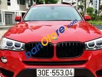 Cần bán lại xe BMW X3 sản xuất năm 2016, màu đỏ, nhập khẩu nguyên chiếc