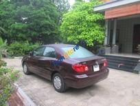 Cần bán gấp Toyota Corolla altis 1.8 MT 2003, màu đỏ