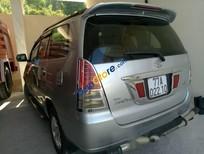 Cần bán lại xe Toyota Innova đời 2008, màu bạc, giá 315tr