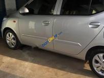 Cần bán Hyundai i10 1.2 AT 2011, màu bạc, xe nhập số tự động