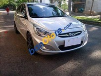 Bán Hyundai Accent 1.4AT năm 2012, màu bạc, nhập khẩu, giá 420tr