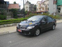 Cần bán lại xe Toyota Corolla altis MT sản xuất năm 2012, màu đen