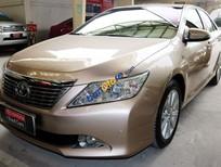 Bán xe Camry 2.5G sản xuất 2012 màu nâu vàng