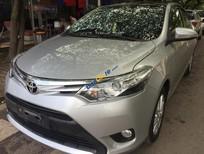 Cần bán gấp Toyota Vios G sản xuất năm 2015, màu bạc, giá cạnh tranh