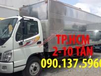 TP. HCM bán xe Thaco Ollin 700 xe 7 tấn mới, màu trắng, nhập khẩu, giá tốt