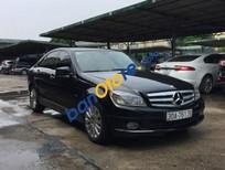 Cần bán gấp Mercedes C200 đời 2009, màu đen chính chủ