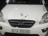 Cần bán lại xe Kia Carens LX 1.6 MT đời 2010, màu trắng