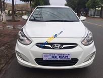Bán xe Hyundai Accent 1.4AT đời 2012, màu trắng, xe nhập