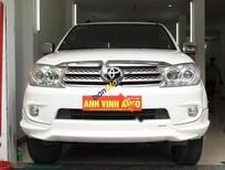 Cần bán gấp Toyota Fortuner TRD Sportivo 4x4 AT đời 2011, màu trắng