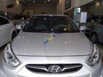 Cần bán gấp Hyundai Accent 1.4 AT đời 2013, màu bạc, nhập khẩu số tự động