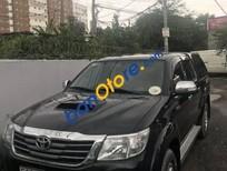 Xe Toyota Hilux 2.5E năm 2013, màu đen số sàn