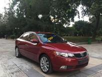 Cần bán lại xe Kia Forte SLi sản xuất 2010, màu đỏ, nhập khẩu, giá 405tr