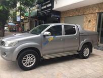 Bán xe Toyota Hilux 3.0G 4x4 MT sản xuất 2015, màu xám, nhập khẩu