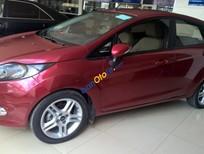 Cần bán Ford Fiesta sản xuất 2011, màu đỏ, 375tr, xe không lỗi, BH hãng 1 năm