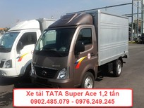 Xe tải 1 tấn 2 thùng kín TaTa mới 100%
