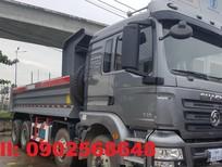 Xe ben Shacman 4 chân 2017 thùng 15 khối, tải trọng 17 tấn