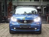 Cần bán xe Smart Fortwo 1.0L sản xuất 2017, màu xanh lam, xe nhập, giá tốt