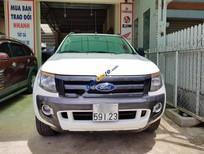 Cần bán Ford Ranger Wildtrak sản xuất 2015, màu trắng, xe còn mới