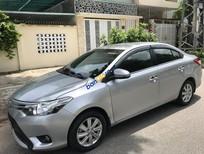 Bán xe Toyota Vios 1.5E 2014, màu bạc số sàn