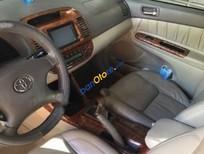 Bán Toyota Camry 2.4G đời 2005, màu đen số sàn