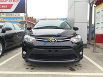 Bán Toyota Vios 1.5E MT năm 2017, màu đen, 490 triệu