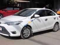 Cần bán Toyota Vios E 1.5MT đời 2016, màu trắng số sàn, giá tốt