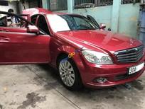 Bán xe Mercedes C200 đời 2007, màu đỏ chính chủ, giá tốt