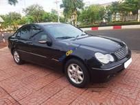 Bán xe Mercedes C200 đời 2003, màu đen, giá tốt