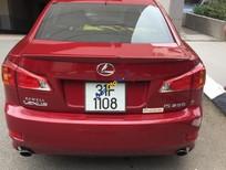 Cần bán xe Lexus IS 250 năm sản xuất 2009, màu đỏ, nhập khẩu nguyên chiếc