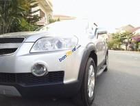Bán ô tô Chevrolet Captiva LT sản xuất 2007, màu bạc
