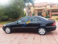 Cần bán lại xe Mercedes C200 đời 2003, màu đen số tự động