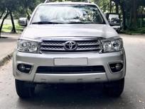 Bán Toyota Fortuner động cơ diesel, số sàn, cuối 2011 màu bạc cực đẹp