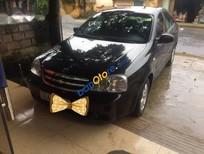 Cần bán lại xe Chevrolet Lacetti đời 2012, màu đen
