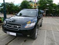 Cần bán gấp Hyundai Santa Fe MLX đời 2008, màu đen, xe chính chủ đi giữ gìn, biển Bắc Giang