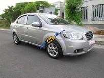 Cần bán gấp Daewoo Gentra đời 2007, màu bạc, giá 195tr