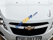 Cần bán lại xe Chevrolet Spark 1.0 AT 2011, màu trắng
