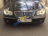 Xe Mercedes C240 đời 2003, màu đen, giá chỉ 285 triệu