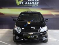 Cần bán Chevrolet Aveo LTZ 1.5AT đời 2014, màu đen