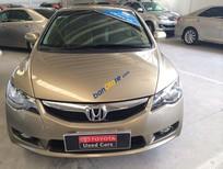 Cần bán Honda Civic sản xuất năm 2009, màu vàng
