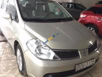 Cần bán gấp Nissan Tiida đời 2007, màu bạc, nhập khẩu nguyên chiếc giá cạnh tranh