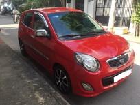 Cần bán Kia Morning đời 2011, màu đỏ xe gia đình còn nguyên zin khá mới